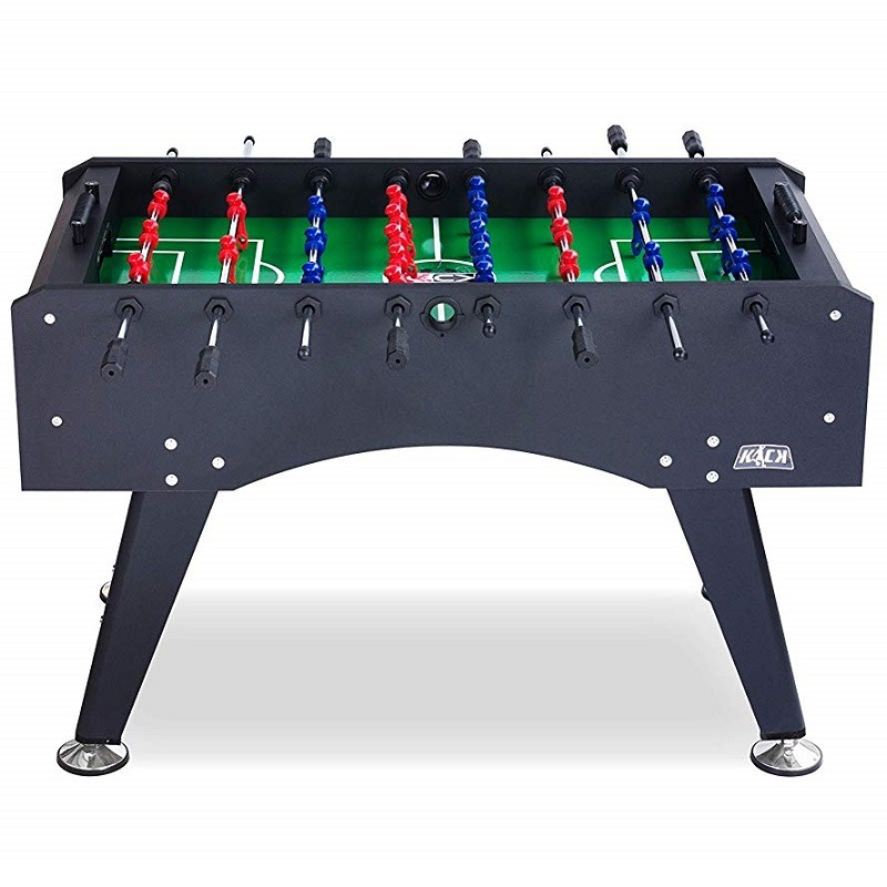 Kick Topaz 55 Black Foosball Table Kick Foosball Tables