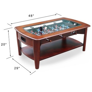 Kick Java 48 Foosball Coffee Table Kick Foosball Tables